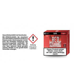 SC Easy 3 Caps Red Cyclone Rote Früchte (2...